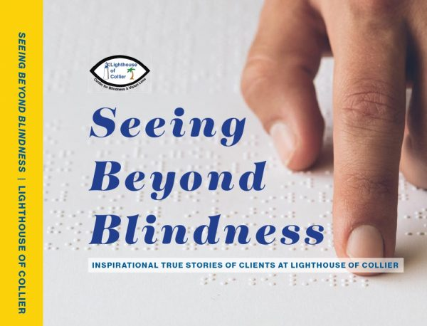 Cover of Seeing Beyond Blindness Coffee Table Book