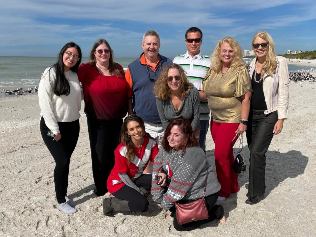 Lighthouse of Collier Staff on the beach