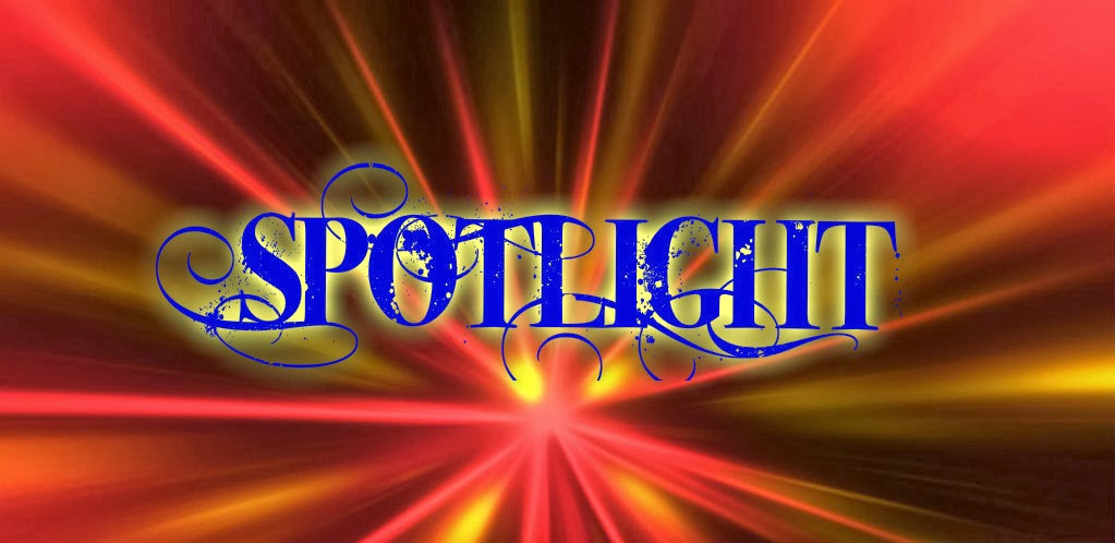 picture of the word spotlight in the center