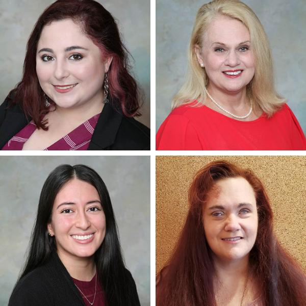 Jennifer Nieves, Phyllis Dratnol, Stephany Estremadoiro, and Misty Phillips