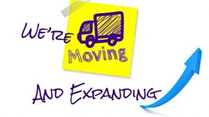 we're-moving and expanding